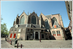 Back of Oude Kerk, Red Light district.