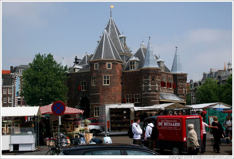 Waag (Old Weighing House).  Red Light district.
