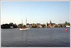 Zaandijk, viewed from Zaanse Schans.