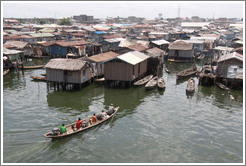 Makoko, a slum on the Lagos Lagoon.