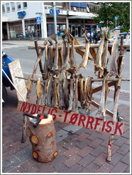 Dried fish at the market downtown.