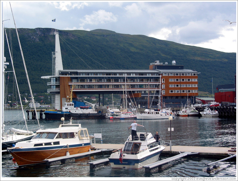 The Rica Ishavshotel.