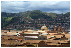 Rooftops of Cusco.