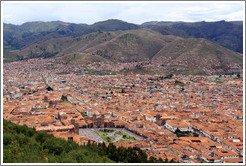Cusco viewed from Sacsayhuam?
