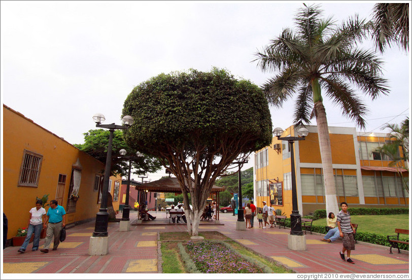 Paseo Chabuca Granda, Barranco Neighborhood.