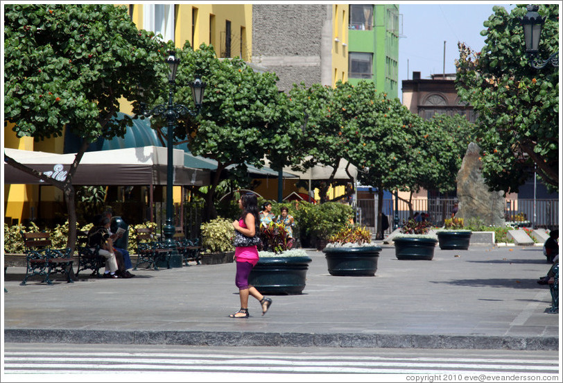 Pasaje Santa Rosa, Historic Center of Lima.