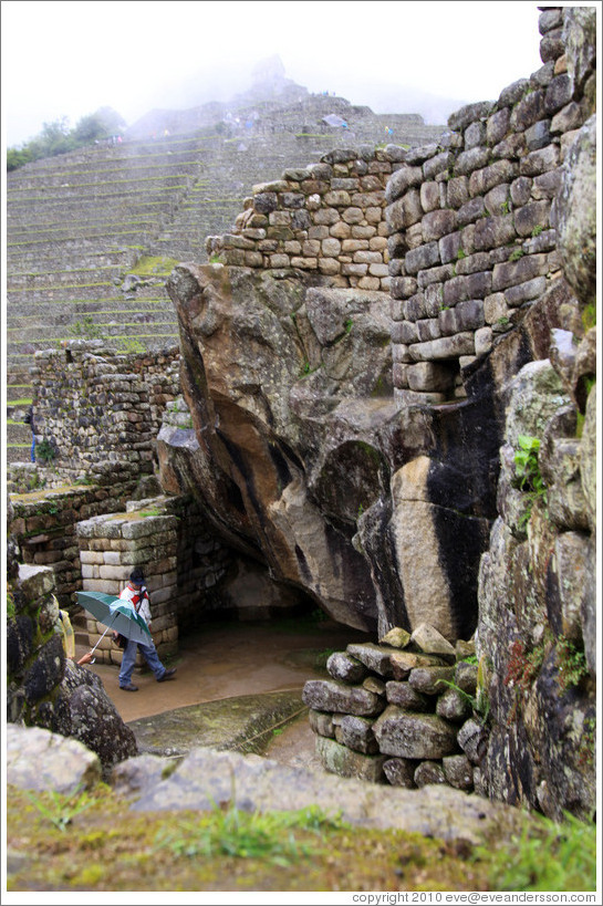 Temple of the Condor, Machu Picchu.