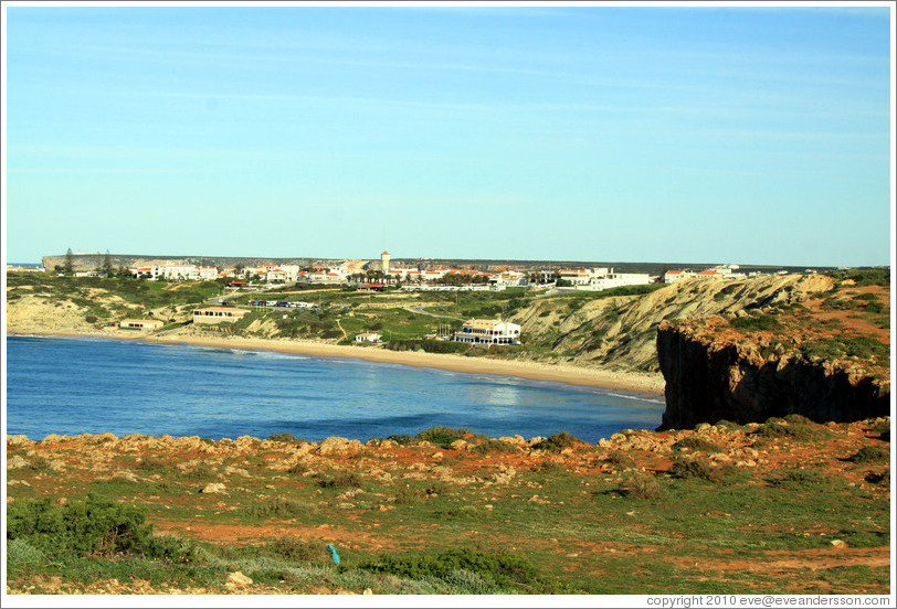 The town of Sagres.