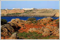 Fortaleza de Sagres (Sagres Fortress) on a cliff.