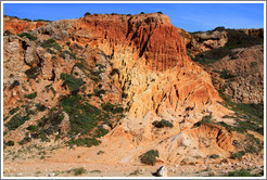 Rocky cliffs, Praia do Tonel (Tonel Beach).