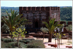 Courtyard, Silves Castle.