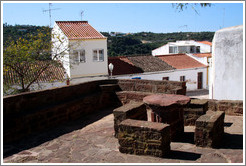Stone table and benches, Rua do Castelo.