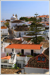 View of Tavira from the Tavira Castle.