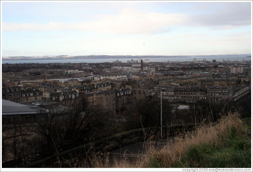 View to the northeast from Calton Hill.