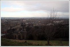 View to the north from Calton Hill.