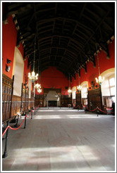 Great Hall.  Edinburgh Castle.