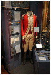 Military uniform.  Edinburgh Castle.