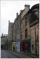 Candlemaker Row.  Old Town.