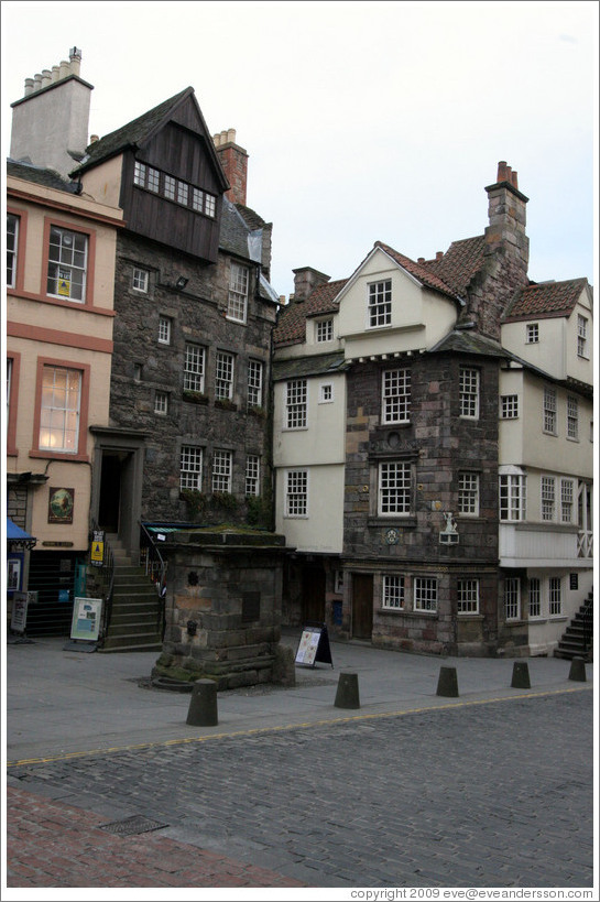 John Knox House.  High Street.  Old Town.