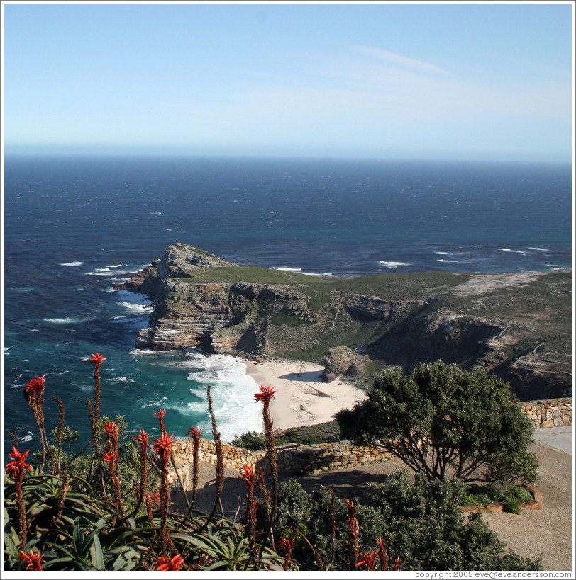 Cape of Good Hope, most southwestern point of Africa.