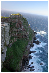 Cape Point, overlooking Cape of Good Hope.