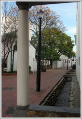 Downtown Stellenbosch.