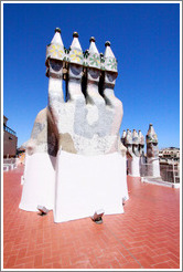 Chimneys.  Casa Batll�.