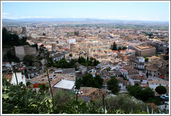 View of the city near Mirador de San Crist?.  Albaic?
