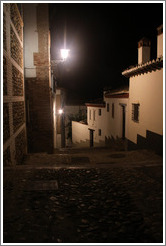 Cuesta de las Cabras at night.  Albaic?
