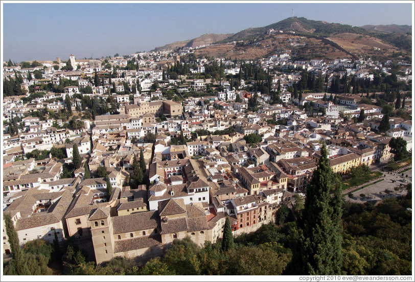 Albaic? viewed from the Alhambra.