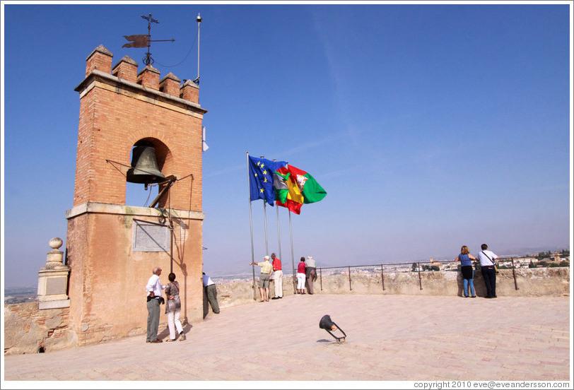 Torre De La Vela Watch Tower Alcazaba Alhambra Photo