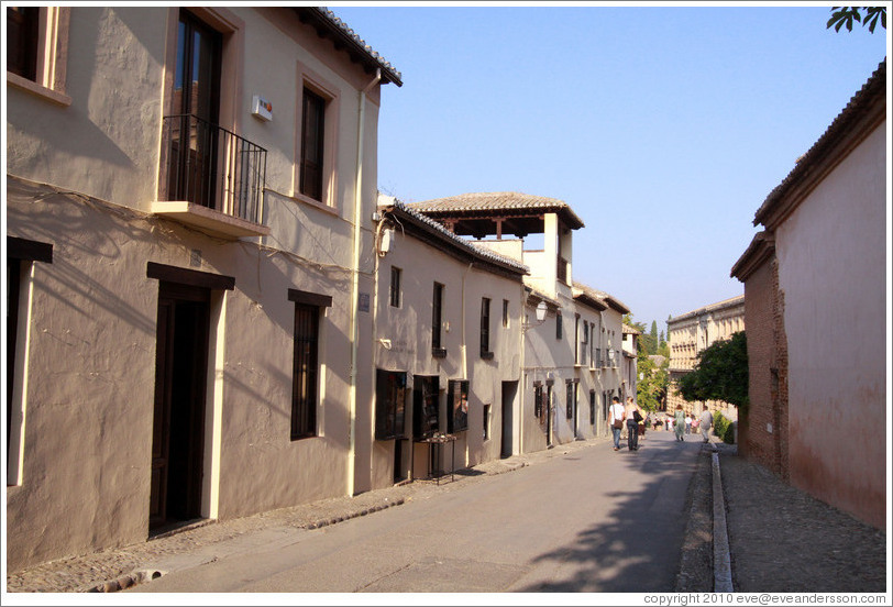 Calle Real, Alhambra.