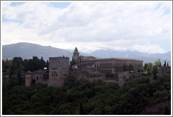 View of the Alhambra from Mirador de San Nicol?(2:26pm).