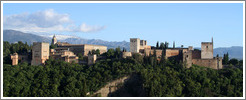 View of the Alhambra from Mirador de San Nicol?(7:38pm).
