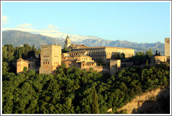 View of the Alhambra from Mirador de San Nicol?(8:23pm).