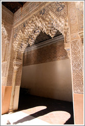 Arch at Court of Lions.  Nasrid Palace, Alhambra.