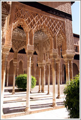 Arches at Court of Lions.  Nasrid Palace, Alhambra.