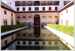 Court of Myrtles.  Nasrid Palace, Alhambra.