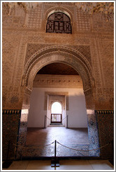 Door to small room.  Nasrid Palace, Alhambra.