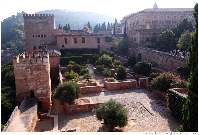 Patio De Machuca Alhambra Photo Id 19744 Granada