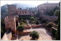 Patio de Machuca, Alhambra.