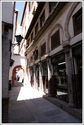 Alcaicer? originally Granada's Moorish silk bazaar.  City center.