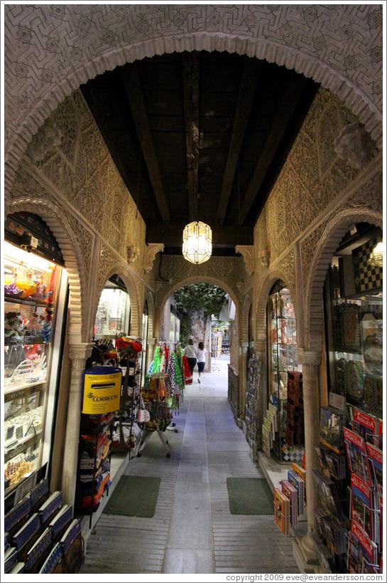 Alcaicer Originally Granada S Moorish Silk Bazaar City