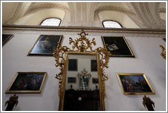 Mirror and symmetry in the Granada Cathedral.