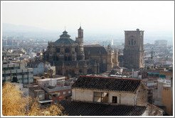 Cathedral, viewed from Calle de Cruz de Quir?Albaic?