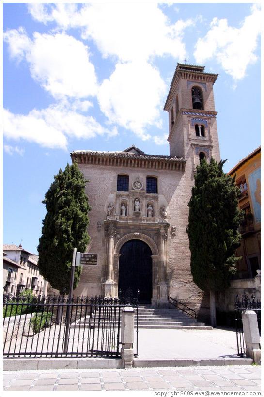 Iglesia de san gil y santa ana city center photo id - Santa ana granada ...