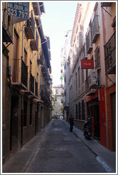 Calle Laurel de las Tablas, city center.