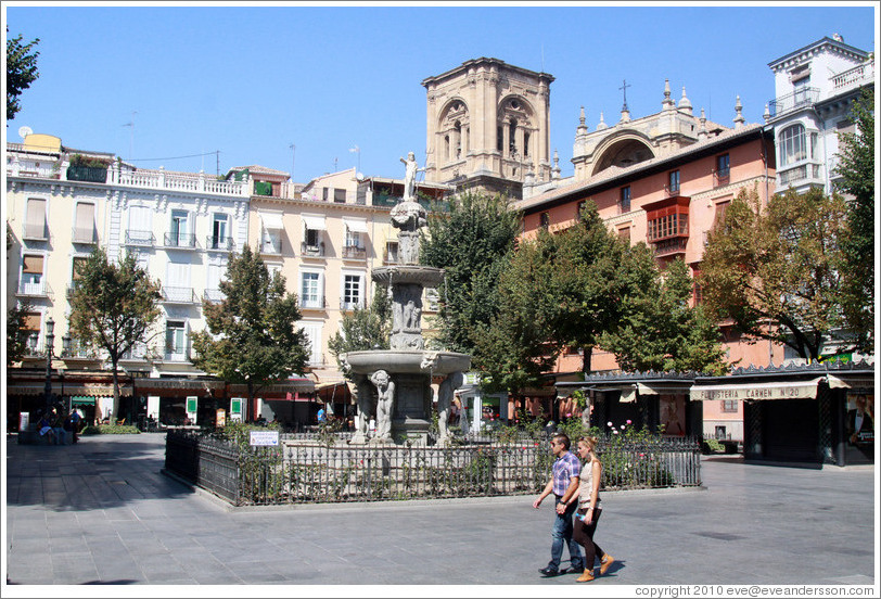Plaza de Bib-Rambla. City center. (Photo ID 19852-granada)