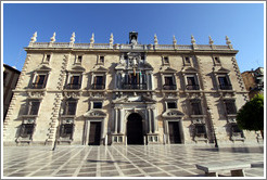Real Chanciller?(Royal Chancellery), built in the 16th century.  Plaza Nueva, City center.