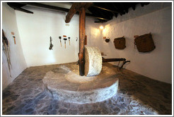 Molino de Sangre (Mill of Blood), an olive crusher powered by donkeys.  15th century Moorish olive oil mill, used by the town of Nig?elas until 1920.